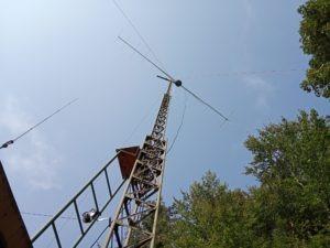 F9FT VKV anténa na 144 MHz