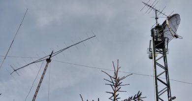 VKV antény na stožiari