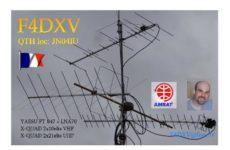 F4DXV satelitné rekordy