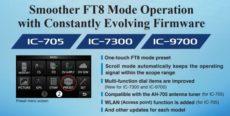 Zlepšená FT8 prevádzka s ICOM IC-705/IC-7300/IC-9700