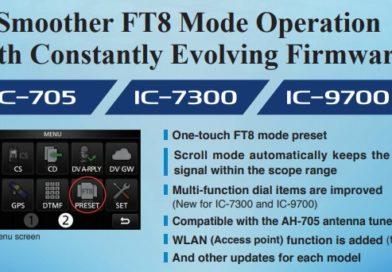 Zlepšený firmware pre ICOM TCVR