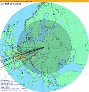 Es vrstva nad Euŕopouv v marci 2021 (screenshot: Tom SP5XMU / SN5R)