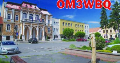 OM3WBQ QSL lístok