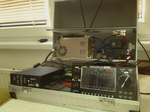 Kufrík s rádiovýbavou OM1II