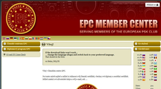 Webová stránka EPC (Obrázok 11)