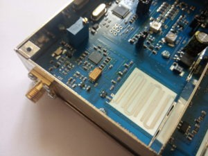 Detail oscilátorového filtra v transvertore