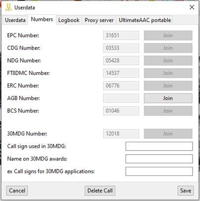 UltimateAAC - záložka Numbers (Obrázok 3)