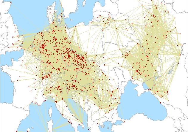 Anschlussplan in der 3. Unterregion 2021 An 432 MHz