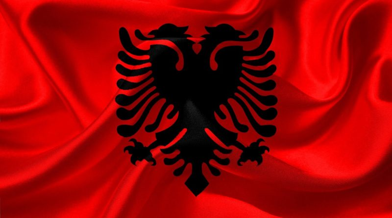 Zástava Albánska