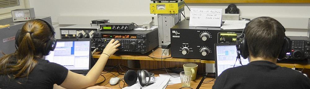 Hamshack OM3KFF, radio club della Slovak University of Technology